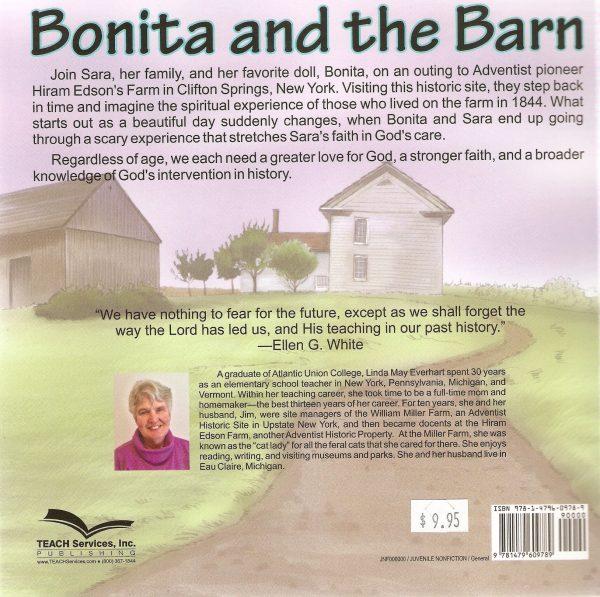 Bonita and the Barn on Hiram Edson's Farm