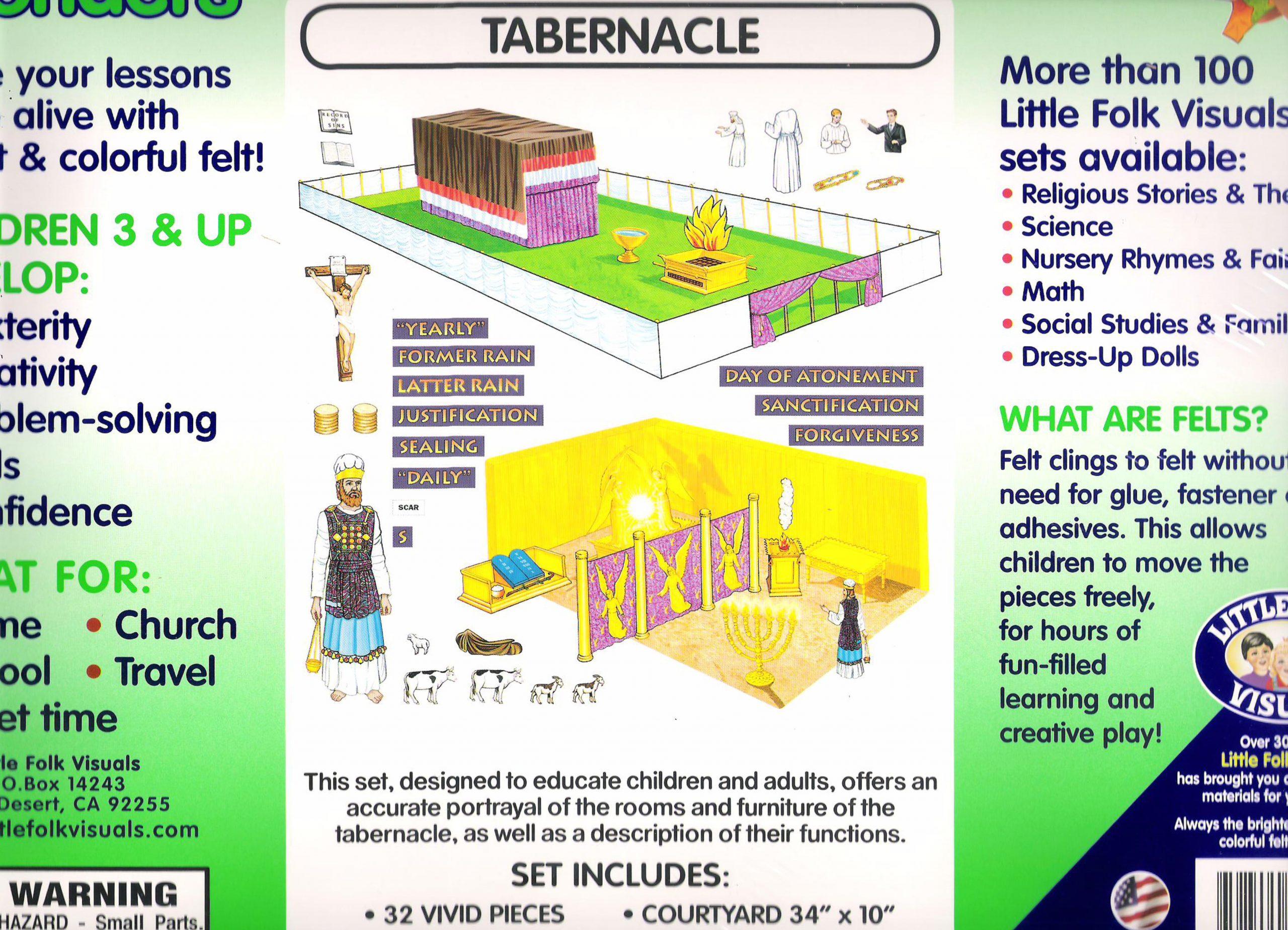 Pre-Cut Tabernacle