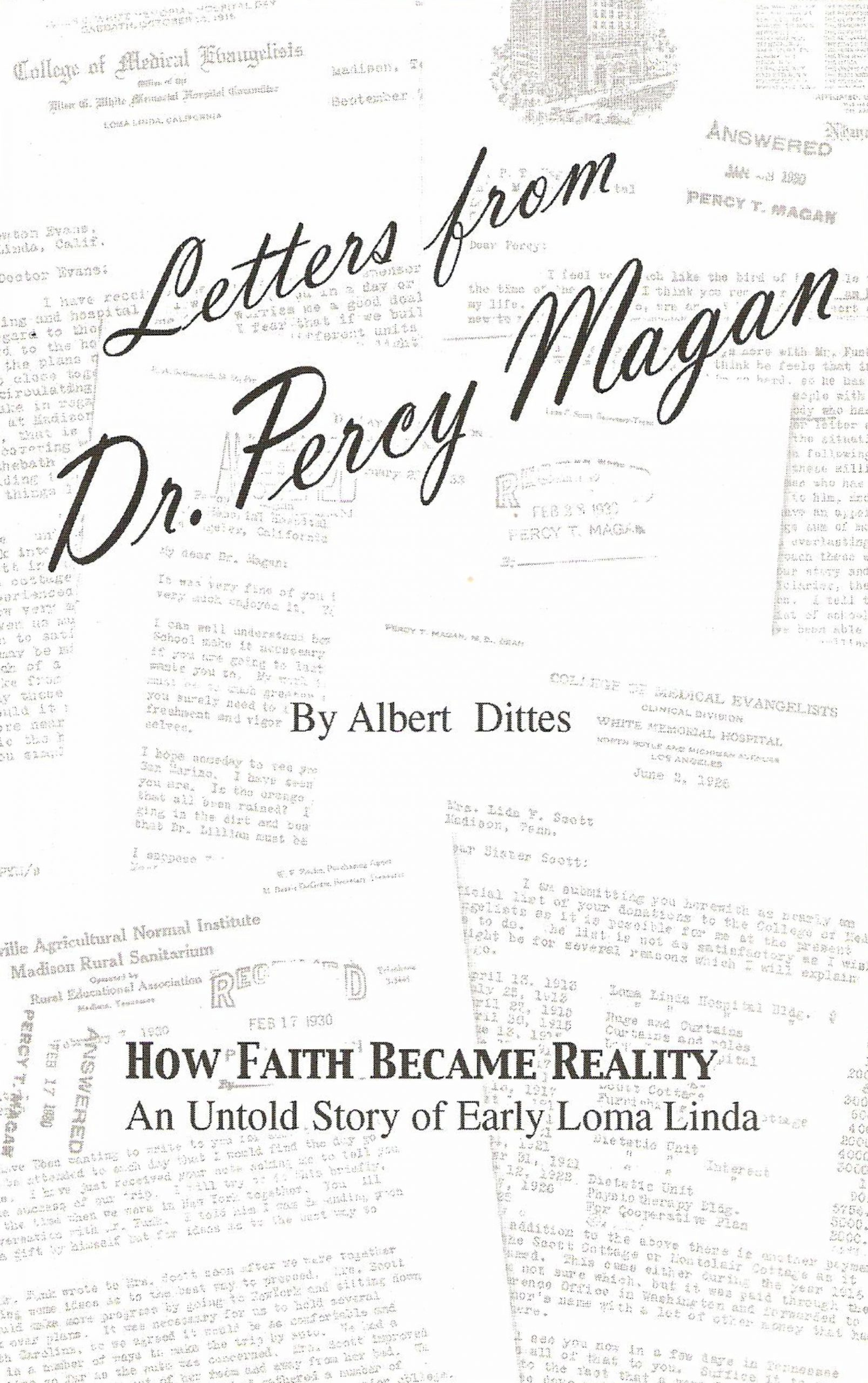 Letters from Dr. Percy Magan
