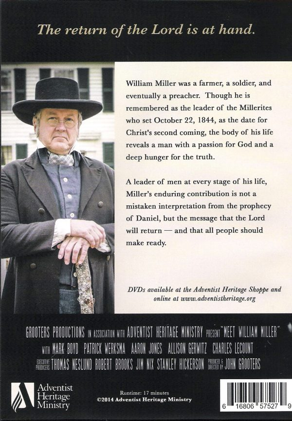Meet William Miller
