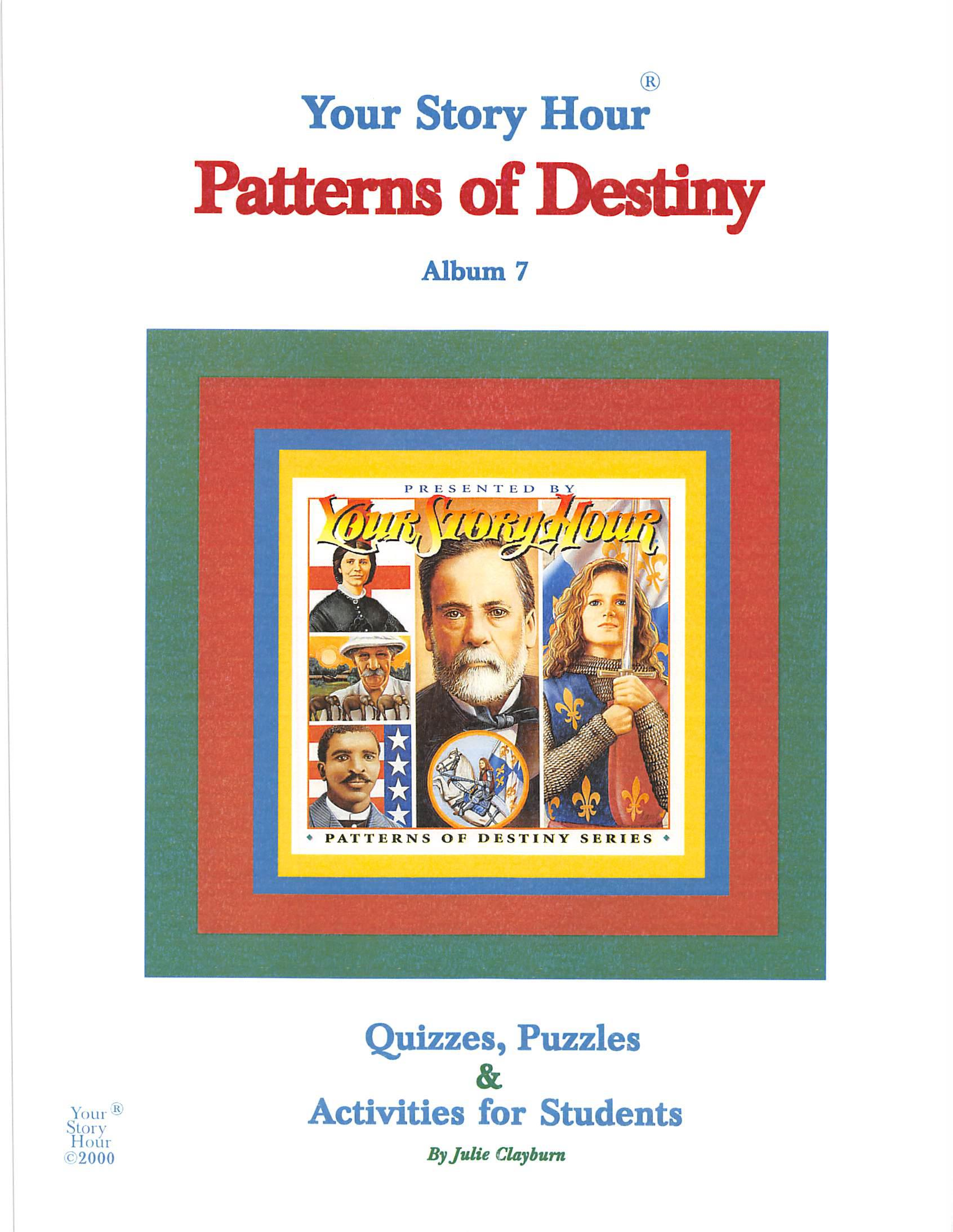Patterns of Destiny - Activity Book