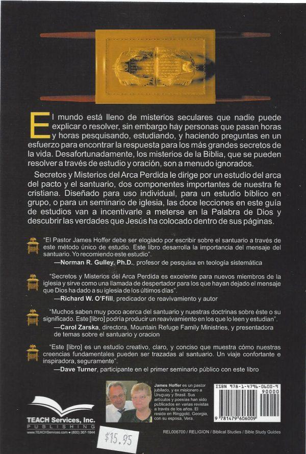 Secretos y Misterios del Arca Perdida Spanish