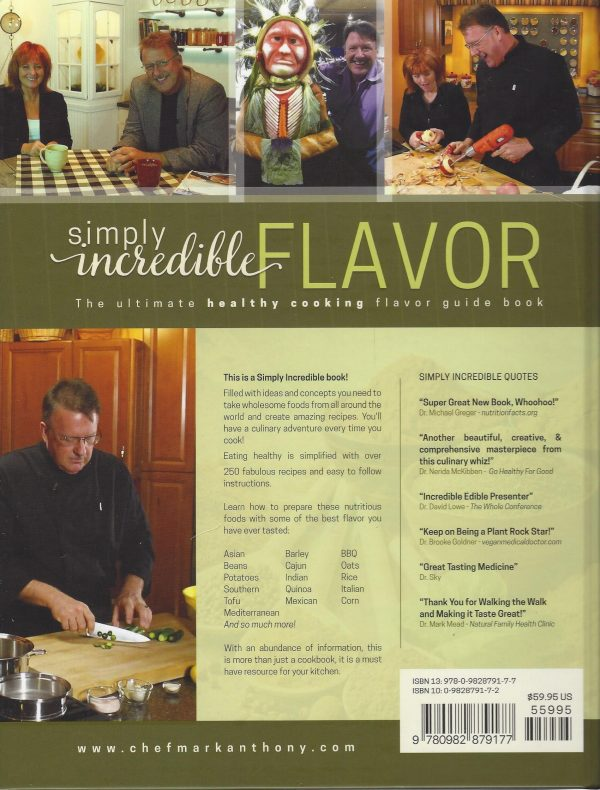 Simply Incredible Flavor