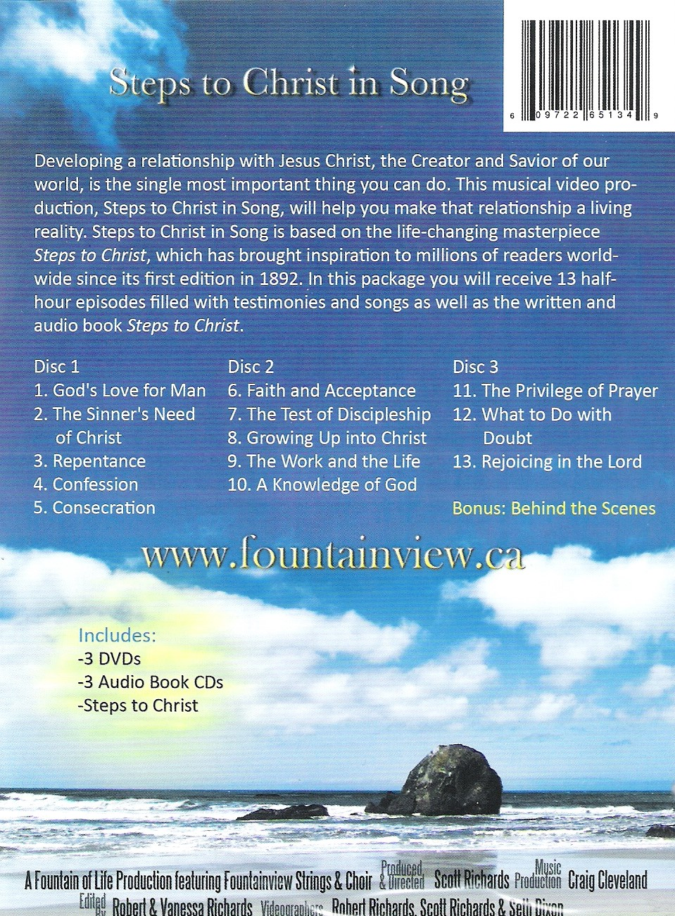 Steps to Christ in Song