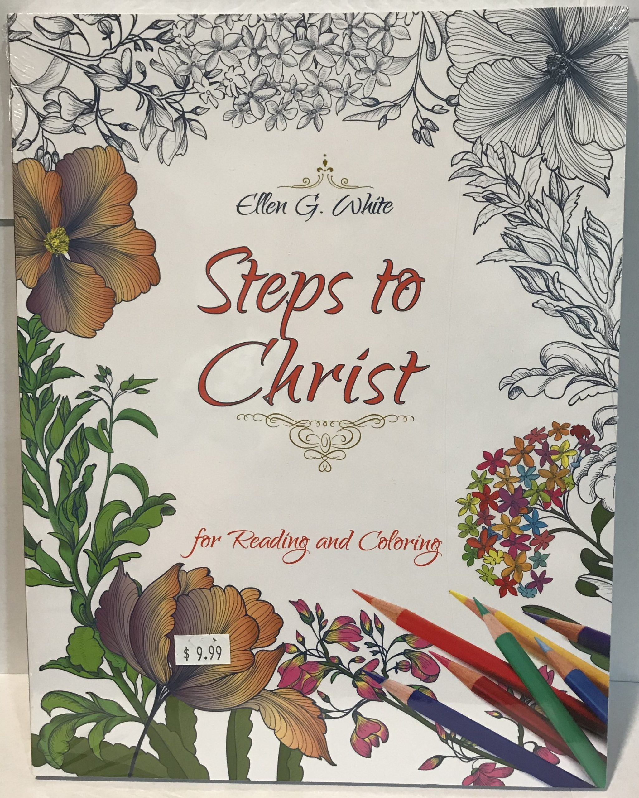 Steps to Christ - Reading and Coloring