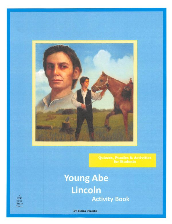 The Young Abe Lincoln - Activity Book